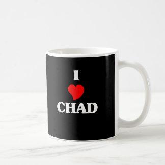 Amo República eo Tchad Tazas De Café