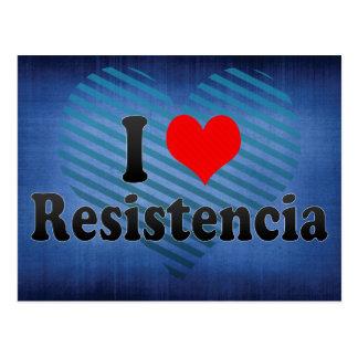 Amo Resistencia, la Argentina Tarjeta Postal