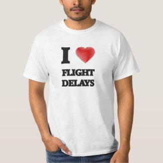 Amo retrasos de vuelo playera
