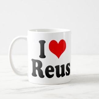 Amo Reus, España. Yo Encanta Reus, España Tazas De Café