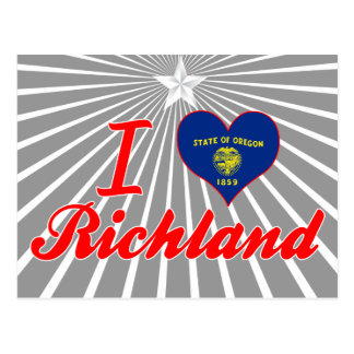 Amo Richland, Oregon Postales