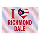 Amo Richmond Dale, Ohio Tarjetón