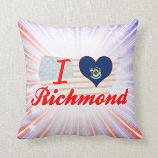 Amo Richmond, Maine Cojín