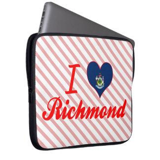 Amo Richmond, Maine Funda Portátil