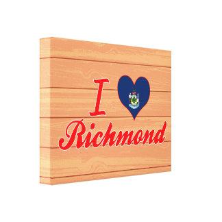 Amo Richmond, Maine Impresiones En Lona