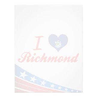 Amo Richmond, Maine Membrete A Diseño