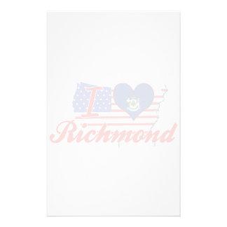 Amo Richmond, Maine Papelería