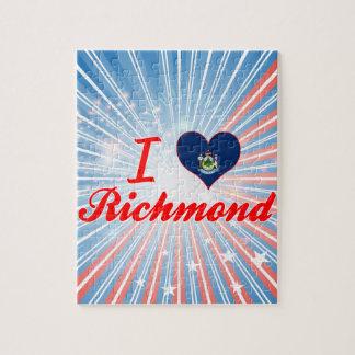 Amo Richmond, Maine Rompecabezas