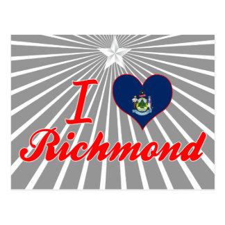 Amo Richmond, Maine Postales