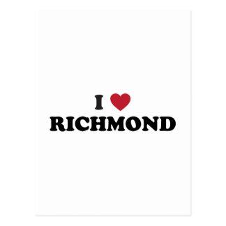 Amo Richmond Virginia Tarjetas Postales