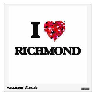 Amo Richmond Virginia Vinilo Decorativo