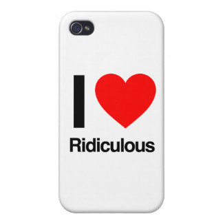 amo ridículo iPhone 4 coberturas