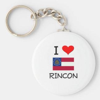 Amo RINCON Georgia Llavero Personalizado