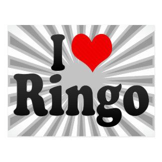 Amo Ringo Postales