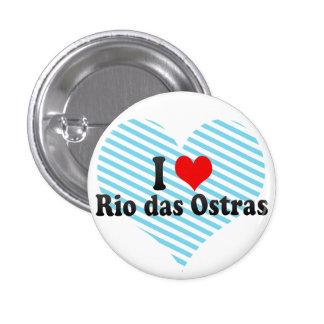 Amo Río das Ostras, el Brasil Pin