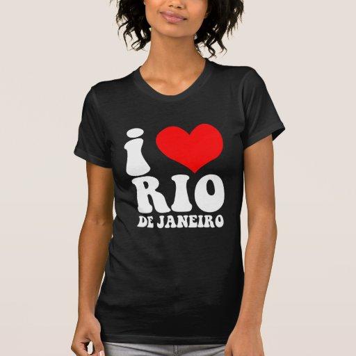 amo Río de Janeiro Camiseta