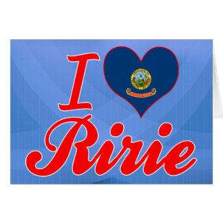 Amo Ririe, Idaho Felicitacion