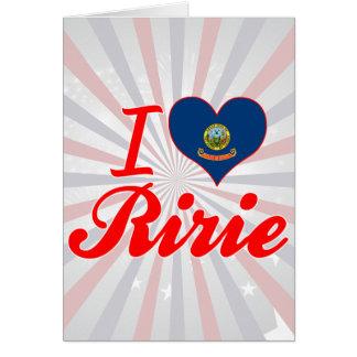Amo Ririe, Idaho Felicitaciones