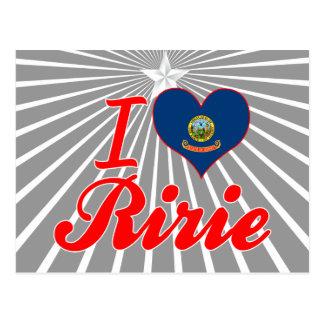 Amo Ririe, Idaho Postal