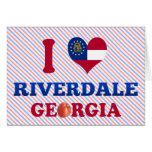 Amo Riverdale, Georgia Felicitación