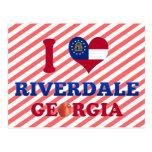 Amo Riverdale, Georgia Postales