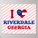 Amo Riverdale, Georgia Poster