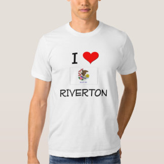 Amo RIVERTON Illinois Playeras