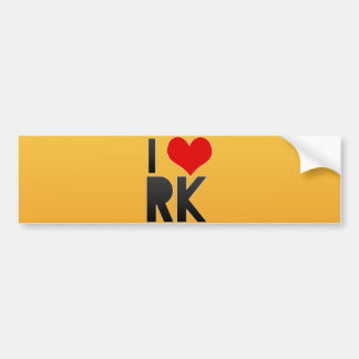 Amo RK Pegatina Para Auto