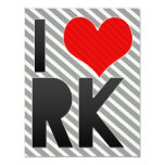 Amo RK Invitaciones Personalizada
