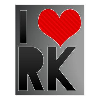 Amo RK Tarjetas Postales