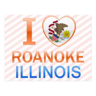 Amo Roanoke, IL Tarjeta Postal