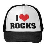 Amo rocas gorro
