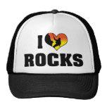 Amo rocas gorros