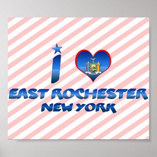 Amo Rochester del este, Nueva York Posters