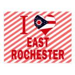 Amo Rochester del este, Ohio Tarjetas Postales