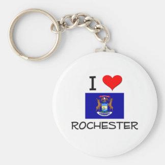 Amo Rochester Michigan Llavero Personalizado