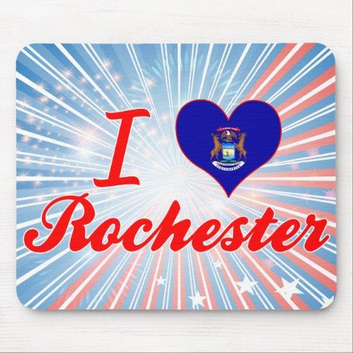 Amo Rochester, Michigan Tapetes De Raton
