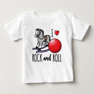Amo rock-and-roll polera