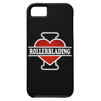 Amo Rollerblading Funda Para iPhone 5 Tough
