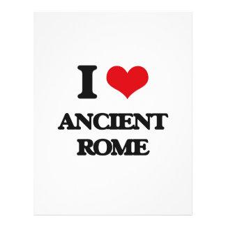 "Amo Roma antigua Folleto 8.5"" X 11"""