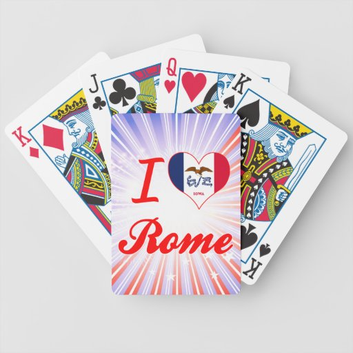 Amo Roma, Iowa Barajas De Cartas