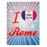 Amo Roma, Iowa Cuadernos
