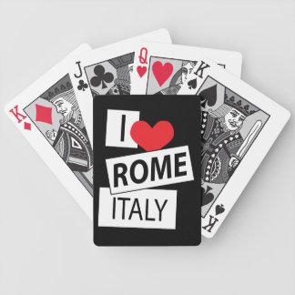 Amo Roma Italia Cartas De Juego