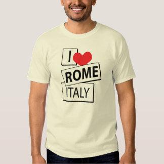 Amo Roma Italia Poleras