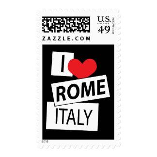 Amo Roma Italia Franqueo