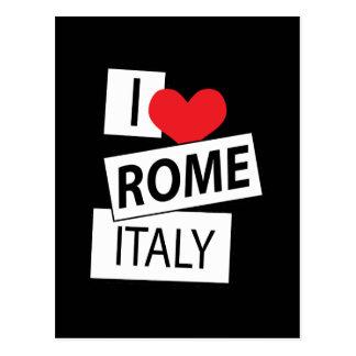 Amo Roma Italia Tarjetas Postales