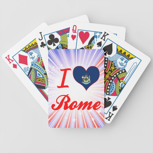 Amo Roma, Maine Baraja
