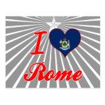 Amo Roma, Maine Postales