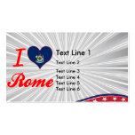 Amo Roma, Maine Tarjeta De Negocio