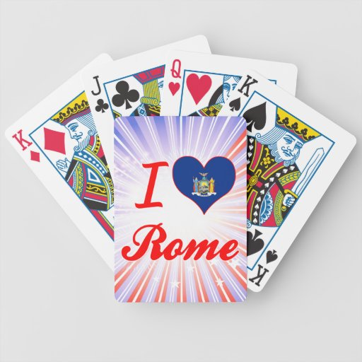 Amo Roma, Nueva York Baraja De Cartas